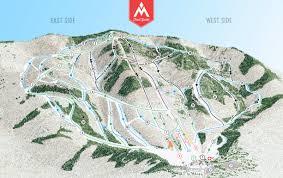 Magic Mountain Map Magic Mountain Ski Area In Vermont Exotisiv