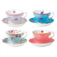 teacups saucers set of 4 royal albert us