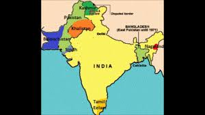 Map Of India And Pakistan by Separatist Movement In India And Pakistan Youtube