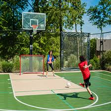 Backyard Sports Court by Backyard Courts Sport Court Michigan Sport Court Michigan
