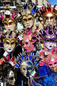carnival masks for sale venice italy feb 7 2013 venetian carnival masks for sale