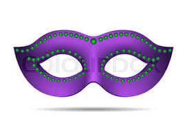 pink mardi gras mask mardi gras mask stock vector colourbox