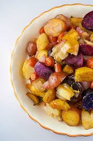 favorite thanksgiving side maple roasted root vegetables