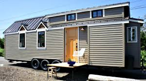 sleek country cottage inspired tiny house on wheels small home