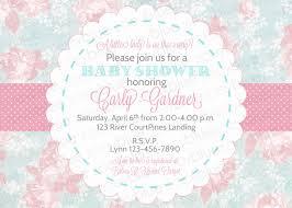 shabby chic baby shower template shabby chic baby shower invitations