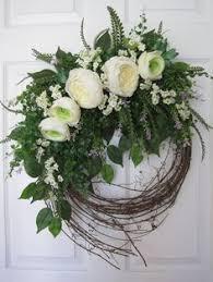 wedding wreath wedding wreath wreath front door wreaths by aniamelisa