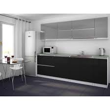 cuisine gris et noir cuisine noir et fabulous stickers sticker frigo xcm fond gris