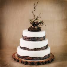 rustic wedding cakes rustic wooden bird nest cake topper