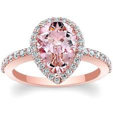 morganite pear engagement ring barkev s 14k gold pear morganite engagement ring