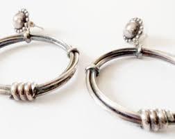90 s earrings 90s hoop earrings etsy