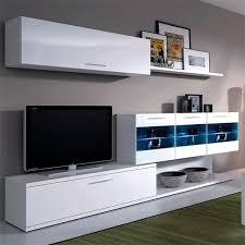 tifon muebles tifon salon blanco leds barato ambiente boreal muebles