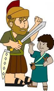 david and goliath cartoon cartoon simplepict com