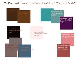 dressing my truth blog my personal colors swatch book style