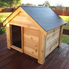 Doghouse For Large Dogs New Age Pet Ecochoice Santa Fe Chalet Dog House Hayneedle