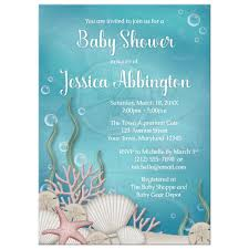 the sea baby shower invitations shower invitations whimsical the sea