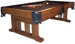 quarter size pool table handcrafted pool tables and billiards accessories from dutchcrafters