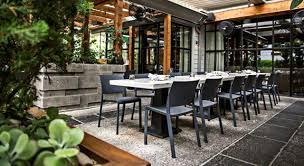 patio furniture design of lure restaurant atlanta georgia for