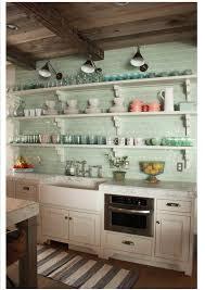 green tile backsplash kitchen home decorating inspiration