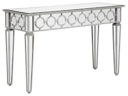 Mirrored Entry Table Decoration Mirror Console Table With Mirrored Console Table