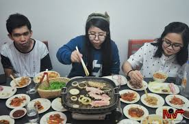 samgyeopsal korean bbq at kollabo kitchen nile on weekends