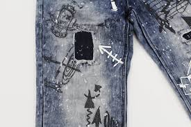 product review sketch art distressed jeans u2013 royal blue apparel