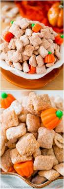 easy treats cereal tossed and peanut butter
