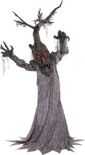 haunted tree deadwood 72 inches animated halloween prop house yard