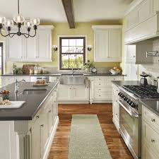 painted kitchen cabinets 2 colors painting cabinets two