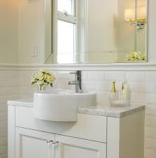 bathrooms with subway tile ideas beveled white subway tile ideas affordable beveled white subway