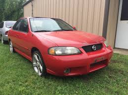 part out 2002 nissan sentra se r spec v w 110k red sunroof manual