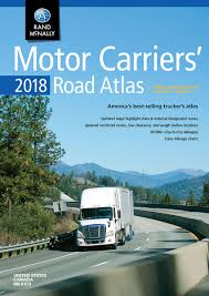 Truck Route Maps by Motor Carriers U0027 Road Atlas