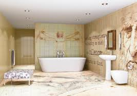 Bathroom Mural Ideas by Magnificent Bathroom Mural For Home Design Ideas With Bathroom