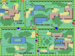 safari zone map safari zone map my