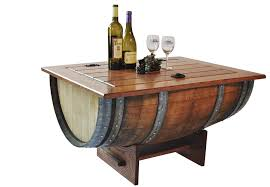 coffee table interesting wine barrel coffee table design ideas