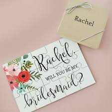 bridesmaids asking ideas best 25 asking bridesmaid gifts ideas on wedding