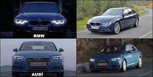 bmw 3 vs audi a4 benim otomobilim 2016 audi a4 vs 2016 bmw 3 series interior