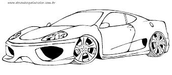 Imagenes De Ferraris Para Dibujar Faciles   dibujos de autos tuning para pintar 5 dibujos de autos
