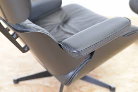 Eames Style Rar Molded Black Eames Style Lounge Chair Back Support U2014 Nealasher Chair Benefits
