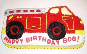 firetruck cake truck cake thepartyworks