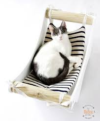 cat hammock plans and more unique cat trees kitty condo hammocks