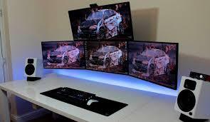 desk two man computer desk v stunning gaming computer desk two