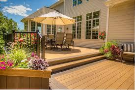 Paver Patio Cost Per Square Foot Deck Vs Concrete Patio Cost Deck Design And Ideas
