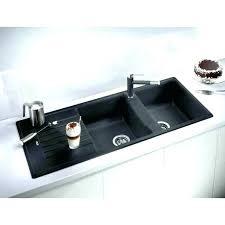 black undermount kitchen sink black undermount kitchen sink double bowl sinks black granite sink