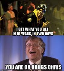 Bill Gates Memes - bill gates vs chris brown imgflip