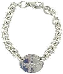 bracelet tiffany silver images Tiffany co silver return to oval tag bracelet tradesy jpg