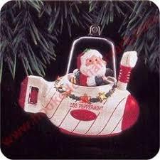 1992 hallmark ornament santa s answering machine hallmark