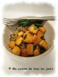 recettes de cuisine simple pour tous les jours tofu caramélisé aux graines de citrouille