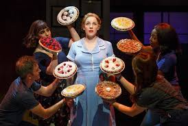 How Much Does A Waitress Make A Year by Waitress Musical On Broadway Sugar Butter Flour Cookbook Of Pie