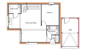 plan maison etage 3 chambres maison design tage 78 m 3 chambres design plans et plan 1 etage