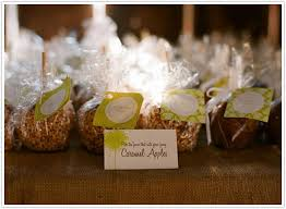 caramel apple party favors wedding fever our treat camille styles